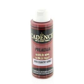 "Cadence Cadence Premium acrylverf ""rode tinten"""