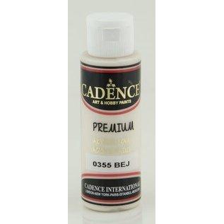 "Cadence Cadence Premium acrylverf ""beige + bruine"""