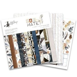 Piatek 13 Paper pad Soulmate  12x12  12 sheets  double sided + 2sheets of 6 designs