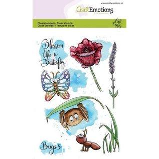 CraftEmotions A6 - Bugs 3 Carla Creaties