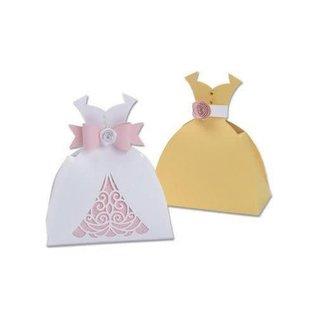 Sizzix 7PK Dress Box  Lynda Kanase