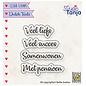 Nellie's choice Dutch texts, Veel liefs etc