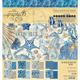Graphic 45 Ocean Blue 8x8 Inch