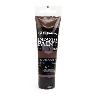 PRIMA MARKETING Art Alchemy Impasto Paint Chocolate