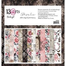 13 Arts Rosalie , 6 dubbelzijdige sheets, 12 designs