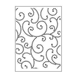 Darice • Embossing folder edelstenen sier
