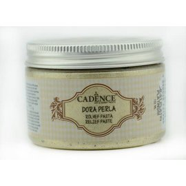 Cadence Perla Metallic Relief Pasta Platinum