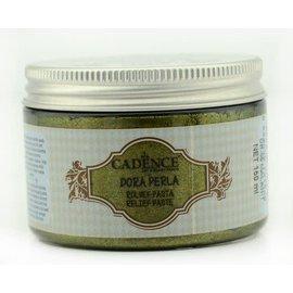 Cadence Perla Metallic Relief Pasta Malachit Green