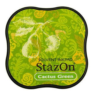 Tsukineko StazOn midi solvent dye ink 5,8x5,8cm  Cactus Green