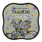 Tsukineko StazOn midi solvent dye ink 5,8x5,8cm  Cloudy Sky