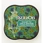 Tsukineko StazOn midi solvent dye ink 5,8x5,8cm  Emerald City