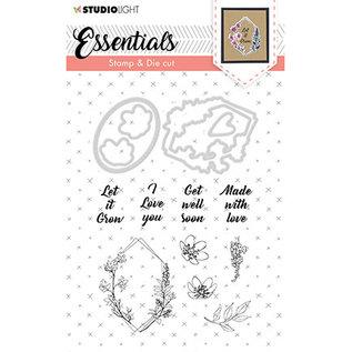 Studio Light Stamp & Die Cut Essentials nr.38