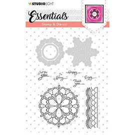 Studio Light Stamp & Die Cut Essentials nr.37