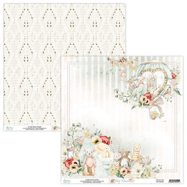 Mintay Mintay Tiny Miracle 12x12 Inch Scrapbooking Paper Set