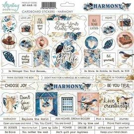 """Mintay Mintay """"Harmony""""Cardboard stickers 12"""" x 12"""" 1st."""
