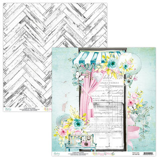 """Mintay Mintay """"Happy Place""""  - 12"""" x 12"""" - 6x2 double sided + element sheet"""