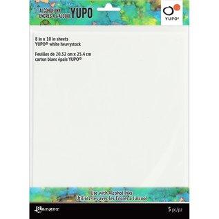 Tim Holtz Tim Holtz Alcohol Ink White Yupo Paper 144lb 5/Pkg