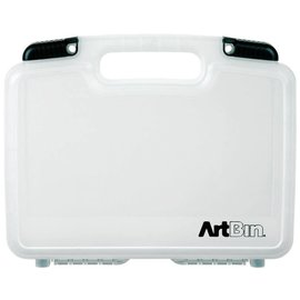 "ArtBin Quick View Deep Base Carrying Case 12""X3.25""X9.875"" Translucent"