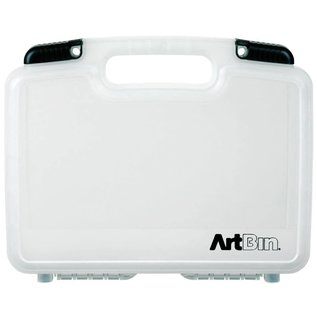 "ArtBin Quick View Deep Base Carrying Case 12""X3.25""X9.875"" Translucent"