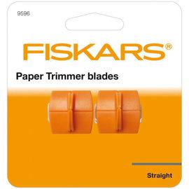 Fiskars reservemes x2 geschikt voor de Fiskars Surecut Plus papiersnijder (2208-4560).