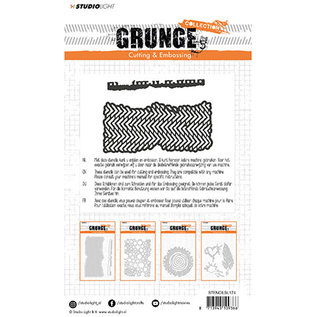 Studio Light Cutting and Embossing Die, Grunge Collection 2.0, nr.174
