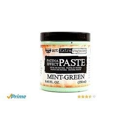 PRIMA MARKETING Finnabair Art Extravagance Patina Effect Paste 8.45oz  Mint Green
