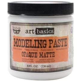 PRIMA MARKETING Finnabair Art Basics Modeling Paste 8oz