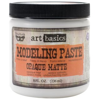 PRIMA MARKETING Finnabair Art Basics Modeling Paste 8oz