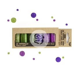 PRIMA MARKETING Finnabair Art Extravagance Glitter 6g 6/Pkg  Mardi Gras