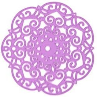PRIMA MARKETING Prima Marketing Purple Metal Die Embroidery Doily