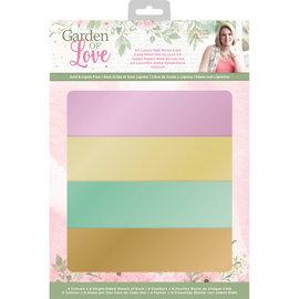 Crafters Companion Garden of Love - A4 Mat Luxe Spiegelkarton