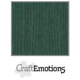 CraftEmotions CraftEmotions linnenkarton  SMARAGDGROEN 30,0x30,0cm