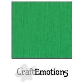 CraftEmotions CraftEmotions linnenkarton GRASGROEN 30,0x30,0cm