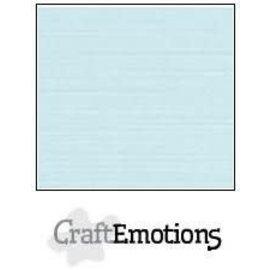 CraftEmotions CraftEmotions linnenkarton BABY BLAUW 30,0x30,0cm