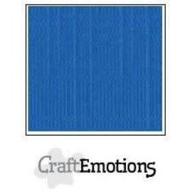 CraftEmotions CraftEmotions linnenkarton SIGNAALBLAUW 30,0x30,0cm