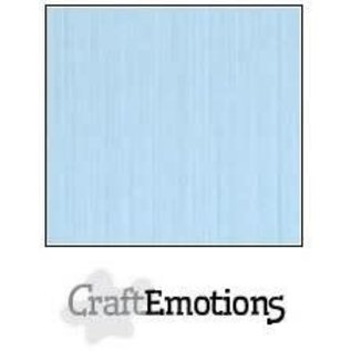 CraftEmotions CraftEmotions linnenkarton AZUURBLAUW 30,0x30,0cm