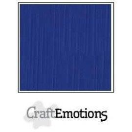 CraftEmotions CraftEmotions linnenkarton DONKER BLAUW 30,0x30,0cm