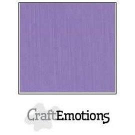 CraftEmotions CraftEmotions linnenkarton LAVENDEL 30,0x30,0cm