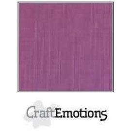 CraftEmotions CraftEmotions linnenkarton PURPER 30,0x30,0cm