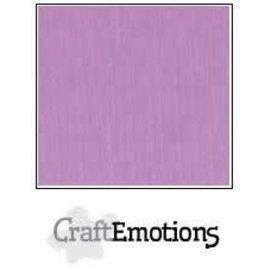 CraftEmotions CraftEmotions linnenkarton LILA 30,0x30,0cm