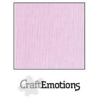 CraftEmotions CraftEmotions linnenkarton ZACHT LILA  30,0x30,0cm