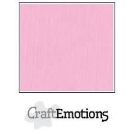 CraftEmotions CraftEmotions linnenkarton ROZE  30,0x30,0cm