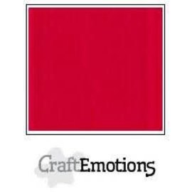 CraftEmotions CraftEmotions linnenkarton VUURROOD  30,0x30,0cm