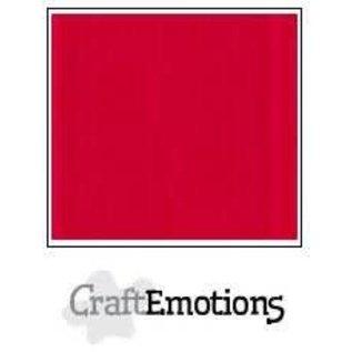 CraftEmotions CraftEmotions linnenkarton VUURROOD  30,0x30,0cm