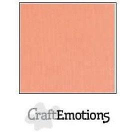 CraftEmotions CraftEmotions linnenkarton ZALM  30,0x30,0cm