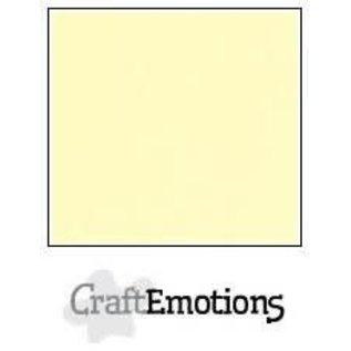 CraftEmotions CraftEmotions linnenkarton GEEL  30,0x30,0cm