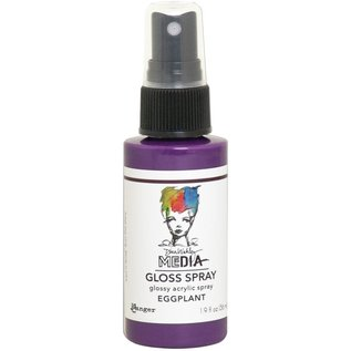 Ranger Dina Wakley Media Gloss Sprays 2oz EGGPLANT