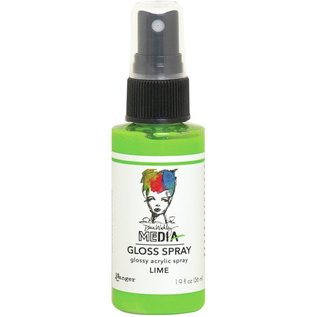 Ranger Dina Wakley Media Gloss Sprays 2oz  LIME
