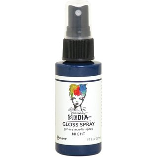 Ranger Dina Wakley Media Gloss Sprays 2oz  NIGHT