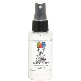 Ranger Dina Wakley Media Gloss Sprays 2oz  WHITE